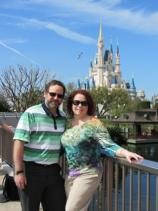 Mark and Sharon at Walt Disney World