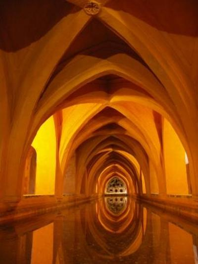 Moorish baths under the Real Alcazar, Seville