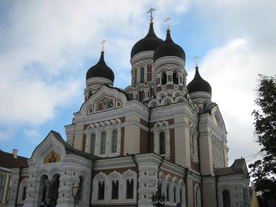 Nevsky Cathedral, Talinn, Estonia