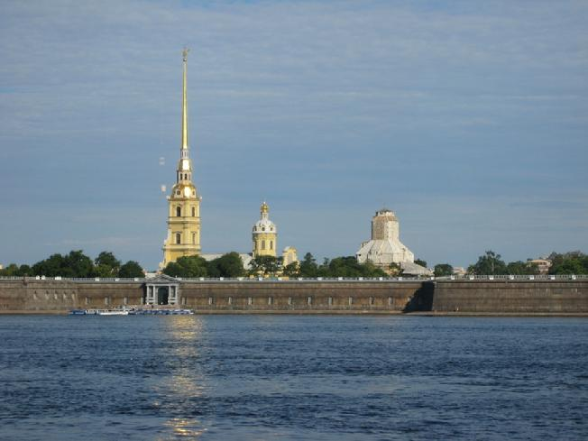 Peter and Paul Fortress (where the Romanovs are interred)